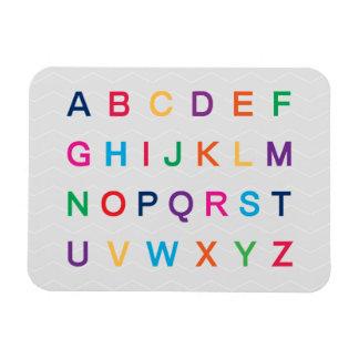 ABCs Alphabet, das bunte ABC-Buchstaben lernt Magnet