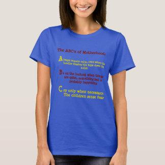 ABCs der Mutterschaft T-Shirt