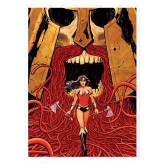 Abdeckung #23 des Wunder-Frauen-neue Comic-52 Postkarte