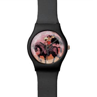 Abdeckung #24 des Wunder-Frauen-neue Comic-52 Armbanduhr