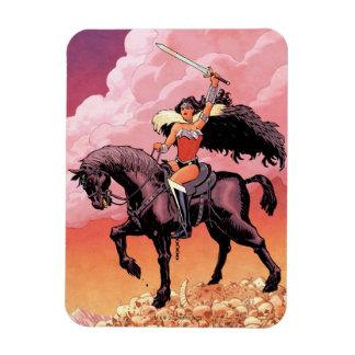 Abdeckung #24 des Wunder-Frauen-neue Comic-52 Magnet