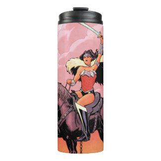 Abdeckung #24 des Wunder-Frauen-neue Comic-52 Thermosbecher