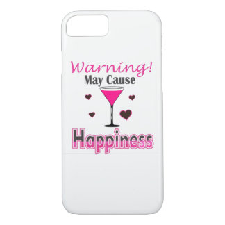 Abdeckung des Glück-Weinkonsum-IPhone iPhone 8/7 Hülle