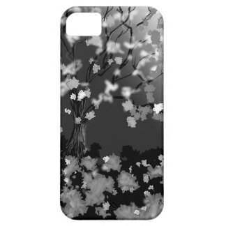 Abdeckung Schwarzweiss-Iphone iPhone 5 Etui