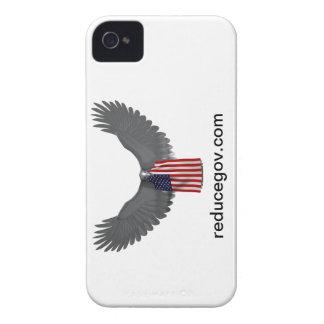 Abdeckung Smartphones Reducegov auf weißem Case-Mate iPhone 4 Hülle
