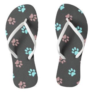 Abdrücke Flip Flops