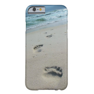 Abdrücke im Sand iPhone 6 Fall Barely There iPhone 6 Hülle