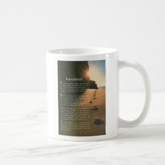 Abdrücke Kaffeetasse