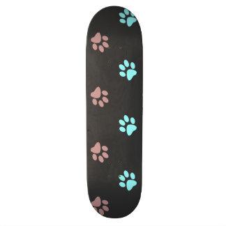 Abdrücke Skateboard Deck