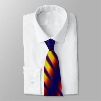 Abduktion 3D abstrakte TECH GEEK-SCIENCE FICTION Krawatte