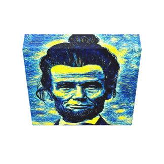 Abe, Abe Brötchen Leinwanddruck