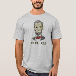 ABE, ALTES ABE LAGER T-Shirt