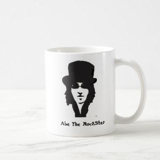 Abe die RockStar Kaffee-Tasse Tasse