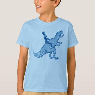 Abe Lincoln, das ein T-Rex reitet, scherzt T - T-Shirt