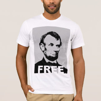 Abe Lincoln Freiheits-Shirt T-Shirt