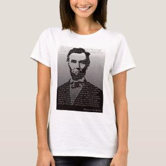 Abe Lincoln Gettysburg Adresse T-Shirt