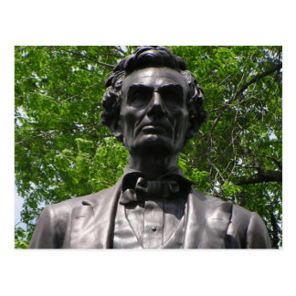 Abe Lincoln in Taylor-Park Postkarte