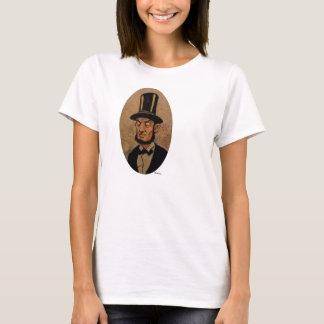 Abe Lincoln Karikatur T-Shirt