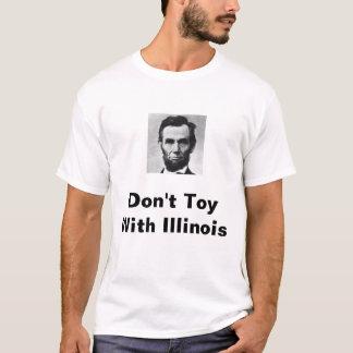 Abe Lincoln, spielen nicht mit Illinois T-Shirt