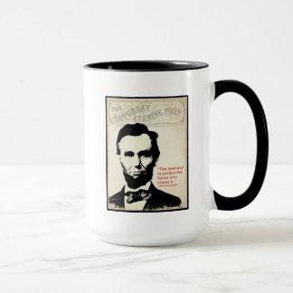 Abe Lincoln Zitat Tasse