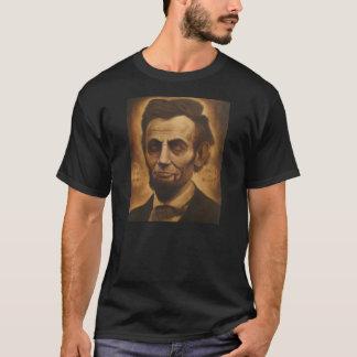 Abe Lincoln Zombie-Held-gequältes Alexander-Shirt T-Shirt