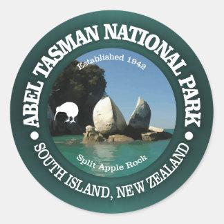 Abel Tasman NP Runder Aufkleber
