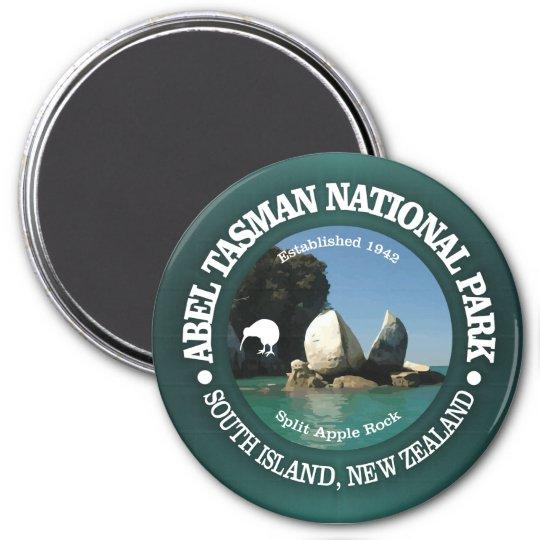 Abel Tasman NP Runder Magnet 7,6 Cm