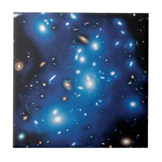 Abell 2744 Pandora Galaxie-Gruppen-Raum-Foto Keramikfliese