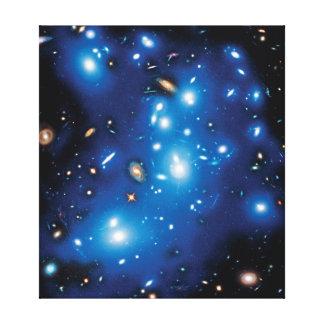 Abell 2744 Pandora Galaxie-Gruppen-Raum-Foto Leinwanddruck