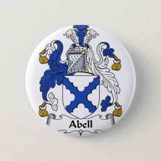 Abell Familien-Wappen u. Familienwappen Runder Button 5,7 Cm