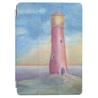 Abend am Leuchtturm iPad Air Cover