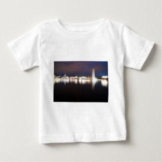 Abend an der Binnenalster Baby T-shirt