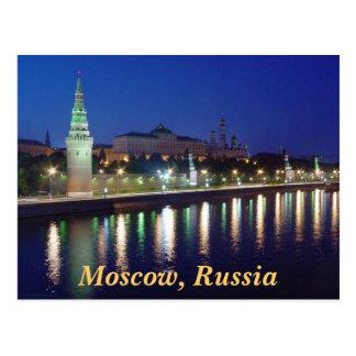 Abend der Kreml Postkarte