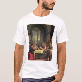 Abendessen bei Emmaus, c.1600-05 (Öl auf Platte) T-Shirt