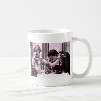 Abendessen-Datum Kaffeetasse
