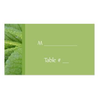 Abendessen-Tischnummerkarte, mit Abendessenplatz, Visitenkarten