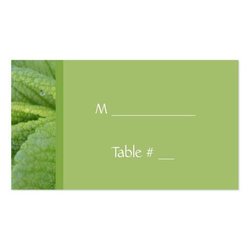 Abendessen-Tischnummerkarte, mit Abendessenplatz, Visitenkartenvorlage