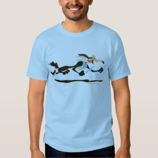 Abendessen Wile E. Coyote Chasing T Shirt