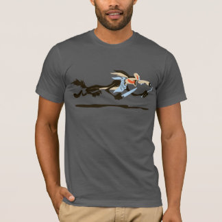Abendessen Wile E. Coyote Chasing T-Shirt