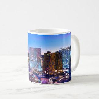 Abends-Ansicht von Las Vegas Kaffeetasse
