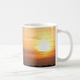 Abends-Sonnenuntergang-Zusätze/Waren Kaffeetasse