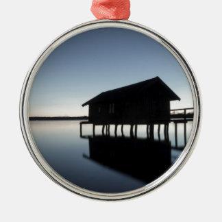 Abendstimmung Silbernes Ornament