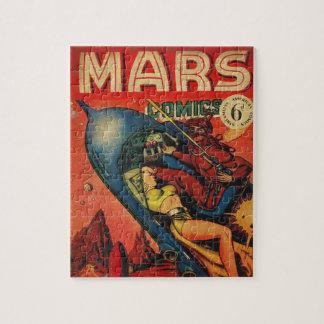 Abenteuer auf Mars Puzzle