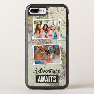 Abenteuer erwartet Antriebskraft der Karten-  Ihre OtterBox Symmetry iPhone 8 Plus/7 Plus Hülle