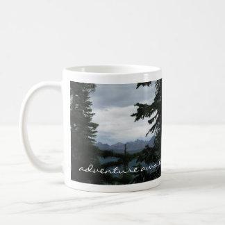 Abenteuer erwartet Becher Colorado Rocky Mountains Kaffeetasse