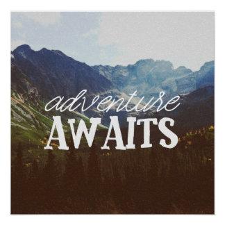 Abenteuer erwartet poster