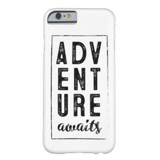 Abenteuer erwartet Telefon-Kasten Barely There iPhone 6 Hülle