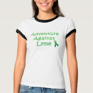 Abenteuer gegen den T - Shirt Lyme Frauen