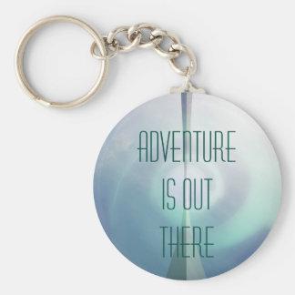 Abenteuer ist dort draussen schlüsselanhänger
