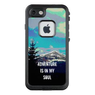 Abenteuer ist in meinem Soulnatur-Kunstzitat LifeProof FRÄ' iPhone 8/7 Hülle